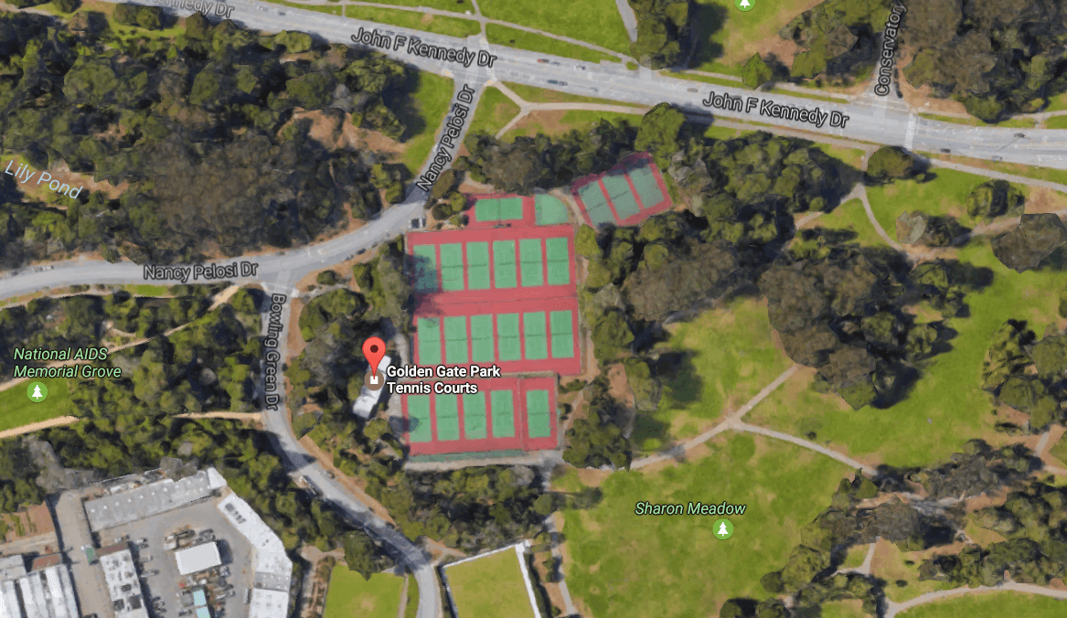 golden gate tennis courts